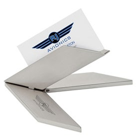 Aero Design Business Card Holder with Your Logo