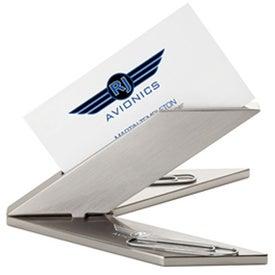 Custom Aero Design Business Card Holder