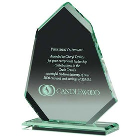 Angular Award Printed with Your Logo
