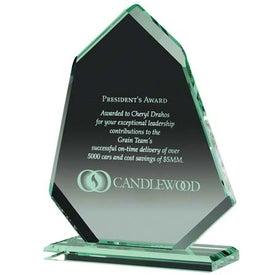 Angular Award Printed with Your Logo