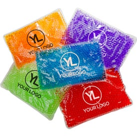 Deluxe Aqua Pearls Hot/Cold Pack with Your Logo