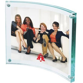 """Arc Acrylic Frame (4.25"""" x 3.5"""")"""