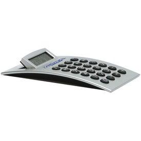 Advertising Arch Shaped Desktop Calculator