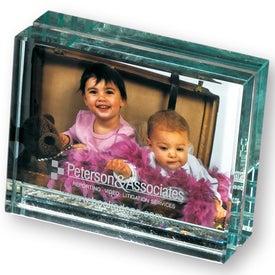 Printed Atrium Glass Desk Frame-Mini