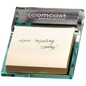 Atrium Glass Message Pad Holder (75 Sheets)