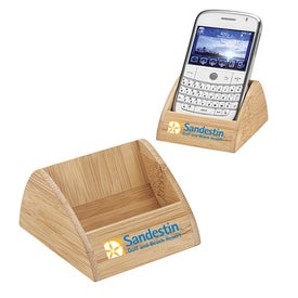 Bamboo Cell Phone Container