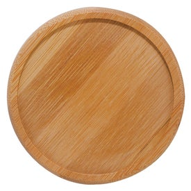 Imprinted Bamboo Coaster Sets
