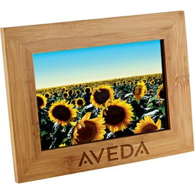 "Bamboo Photo Frame (4"" x 6"" Photo)"
