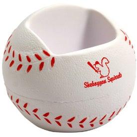 Baseball Desktop Bin