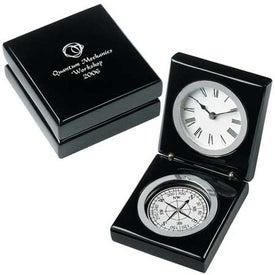 Advertising Bearing Clock
