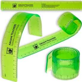 Bend and Measure Ruler with Your Slogan