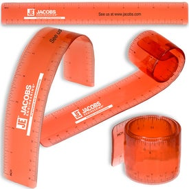 Logo Bend and Measure Ruler