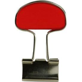 Branded Binder Flip Clip