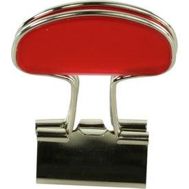 Customized Binder Flip Clip
