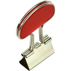 Monogrammed Binder Flip Clip