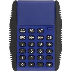 Monogrammed Flip Cover Calculators