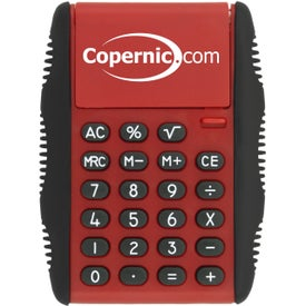 Flip Cover Calculators with Your Slogan