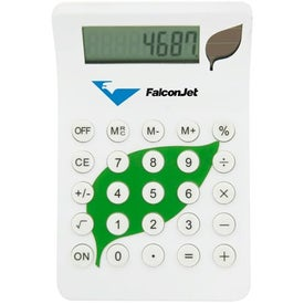 BioGreen Leaf Calculator for Promotion