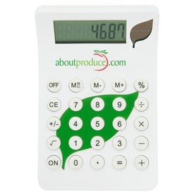 Promotional BioGreen Leaf Calculator