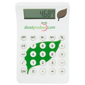 Promotional BioGreen Leaf Calculator