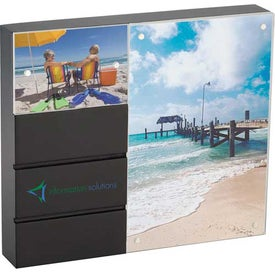 Customized Black Acrylic Double Frame