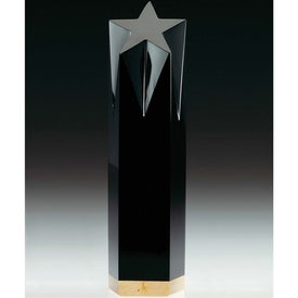Black Shooting Star Award for Your Company