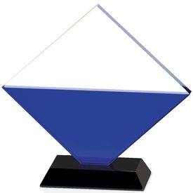 Blue Diamond Award Branded with Your Logo