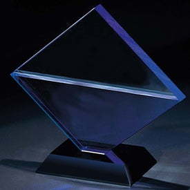 Customized Blue Diamond Award