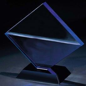 Customized Blue Diamond Award