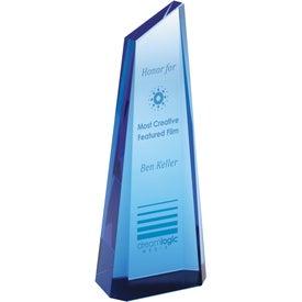Printed Blue Tower Award