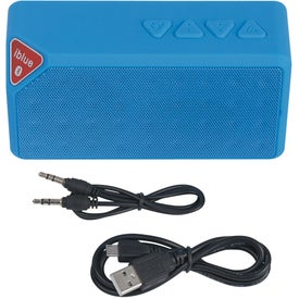 Logo Bluetooth Brick Speaker