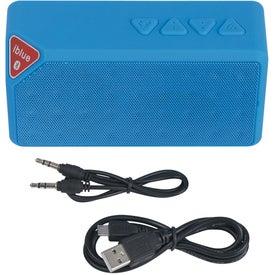 Logo Bluetooth Brick Speaker