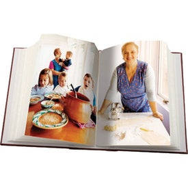 Book Style Photo Album Printed with Your Logo