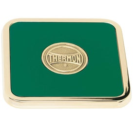 Brass Square Coaster Weight Coaster for Customization
