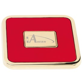Promotional Brass Square Coaster Weight Coaster