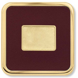 Personalized Brass Square Coaster Weight Coaster
