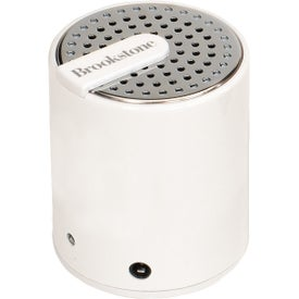 Brookstone Cool Vibes Mini Speaker Branded with Your Logo