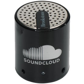 Brookstone Cool Vibes Mini Speaker Imprinted with Your Logo