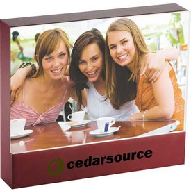 Promotional Brown Acrylic Frame