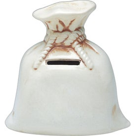 Brown Stain Money Bank