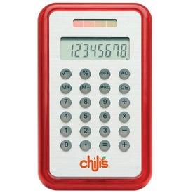 Brushed Metal Calculator Giveaways