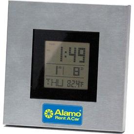 Brushed Metal Multi Function Digital Alarm Clock