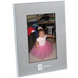 Budget Frame Imprinted with Your Logo