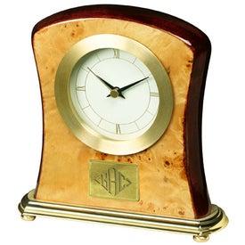 Custom Burlwood Clock