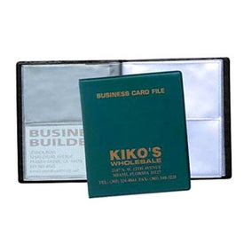 4-View Business Card File