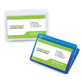 Business Card Magnet Fridge Office Clip