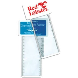 Business Card/Magnifier/Ruler/Bookmark