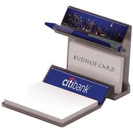 Custom Translucent Business Card Holder