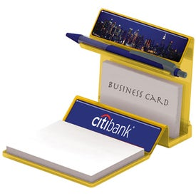 Personalized Translucent Business Card Holder