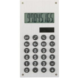 Aluminum Solar Calculator with Your Logo